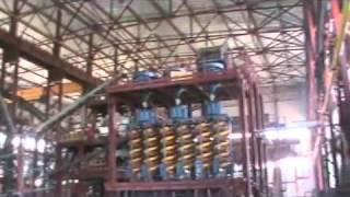 Цех по переработке (обогащению) шламов марганца(Компания Максипром групп, руководит проектом обогащения шламов, на базе ПАО