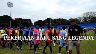 Pekerjaan Baru Sang Legenda Hidup Sriwijaya FC