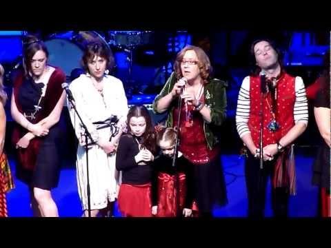 Rufus & Martha Wainwright's Christmas 101 - Proserpina live @ Fox Theater, Oakland - Dec 19, 2012