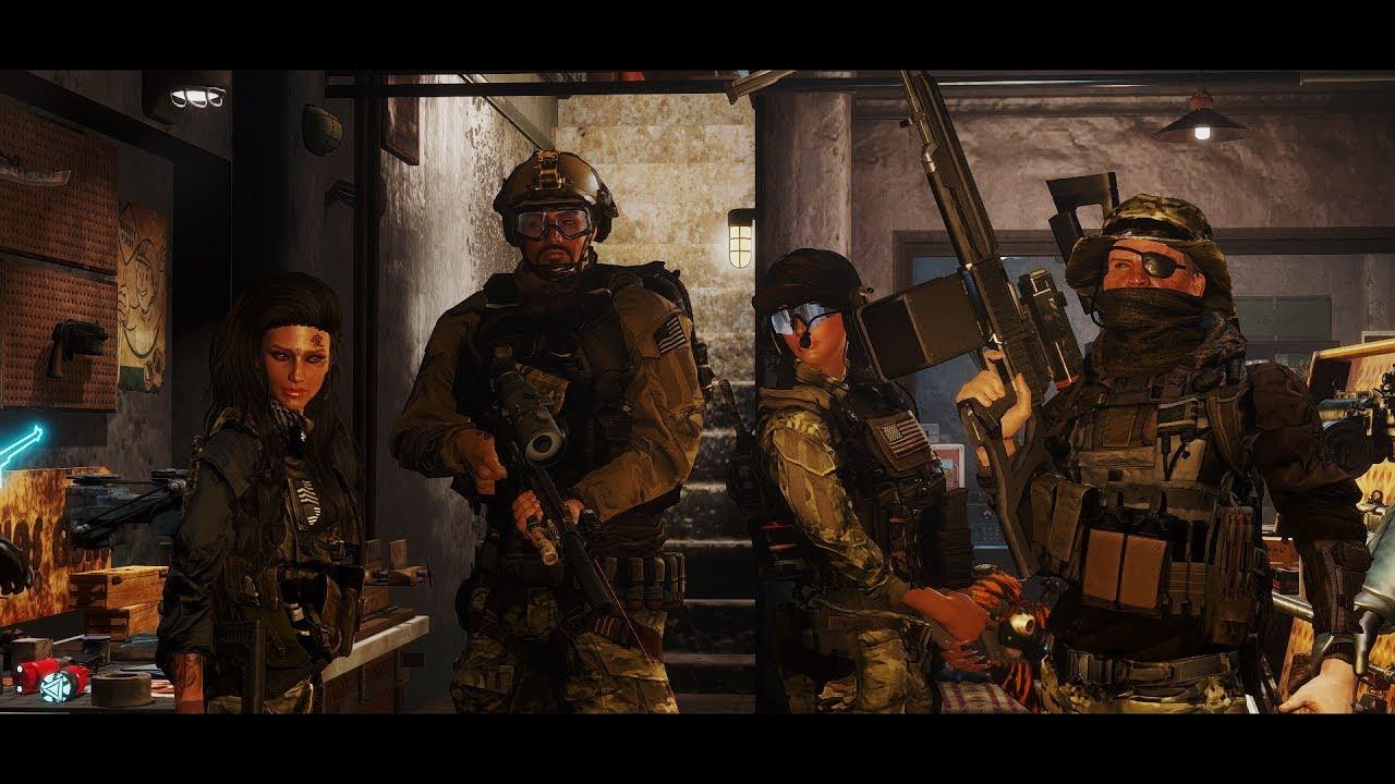 tactical armor fallout 4