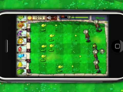 Plants vs. Zombies for iPhone Game Trailer - Game Launches 2/15!