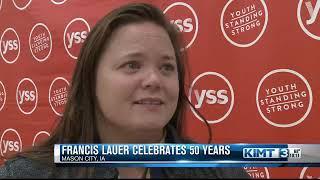 Francis Lauer celebrates 50 years