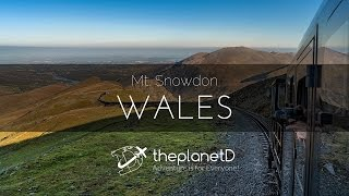 The Steam Train up Mt Snowdon in Wales