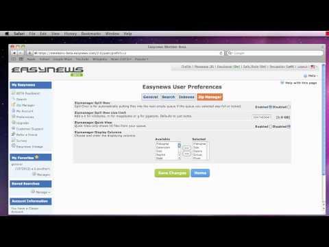 Customizing Easynews Usenet - Part 4 of 4 - Zip Manager Settings