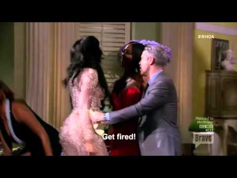 Kenya Vs Porsha Real Housewives of Atlanta Reunion Fight