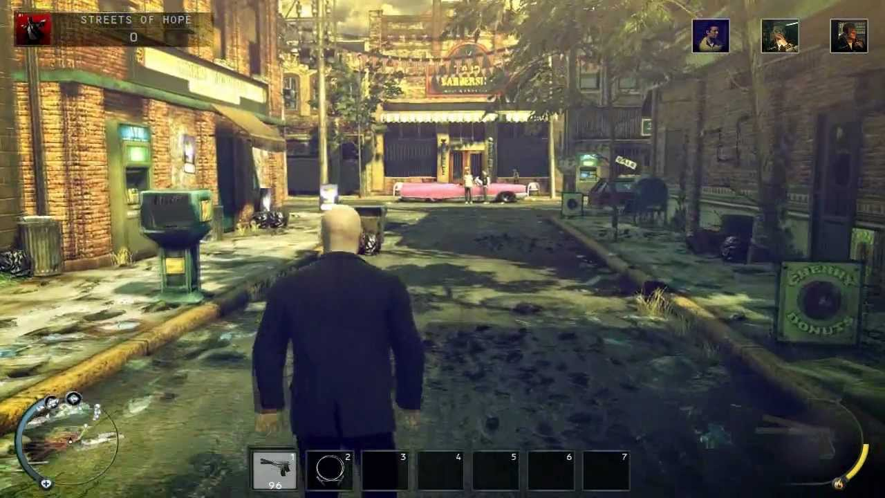 Hitman Absolution Gameplay Youtube