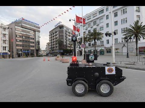 روبوتات تلاحق مخالفي حظر التجول في تونس  - نشر قبل 4 ساعة