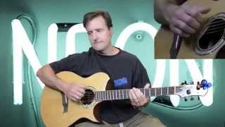 Neon - Complete Live Acoustic version from WTLI - John Mayer -Guitar lesson with TAB
