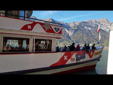 Jungfrau Ship In Lake Brienz, Switzerland