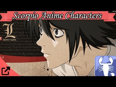 Top Scorpio Anime Characters (Astrology Sign)