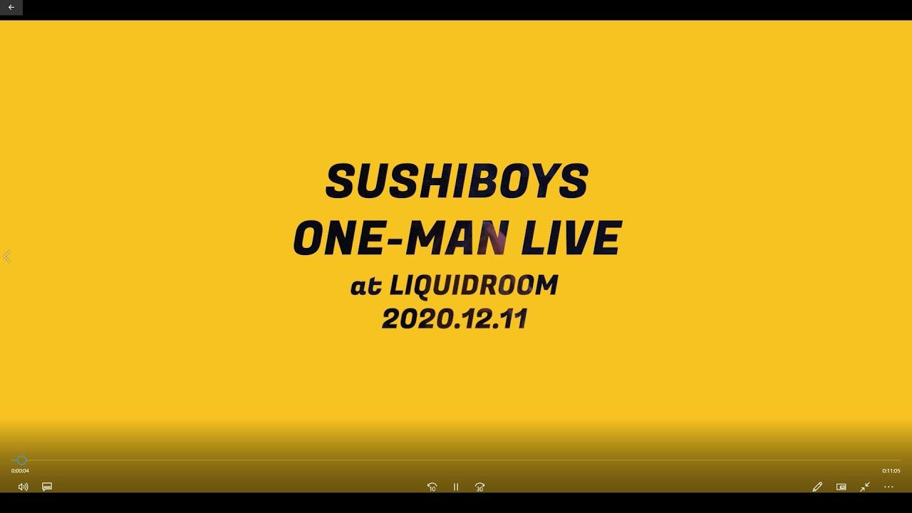 SUSHIBOYS ONE-MAN LIVE at LIQUIDROOM