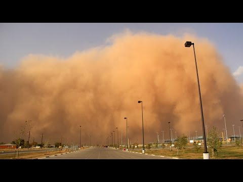 Haboob Or Dust Storm? National Weather Service Angers Texans