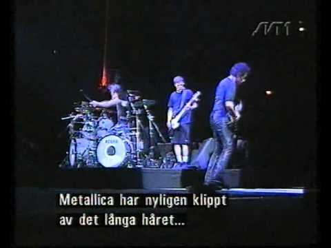 Metallica –Interview + live report Sweden (Poor Touring Me)
