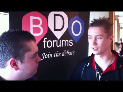 Wesley Harms Scottish Open Interview