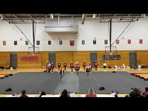Preble Shawnee Junior High School Cheer Spirit Day 2021