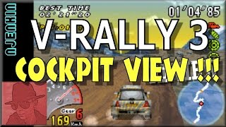 V-Rally 3 - Cockpit View! - GBA - with Commentary !!