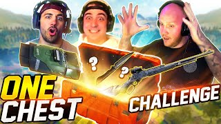 ONE CHEST ONLY CHALLENGE! Ft. Nickmercs & Cloakzy
