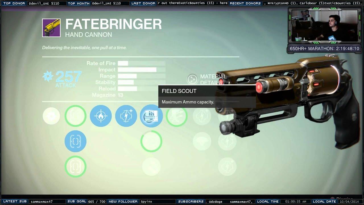 destiny how to get crimson hand cannon