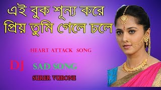 Ei Buk Sunno Kore priyo tumi gele chole  - Heart Broken Sad Dj Mix - Purulia Sad Dj Mix 2018