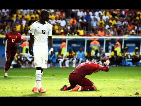 Ghana vs Portugal 2 vs 1