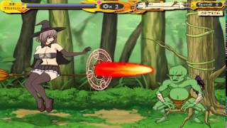 GAMEPLAY WITCH GIRL STAGE 1
