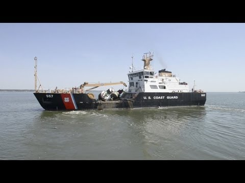 What it's like to work aboard the Coast Guard Cutter Frank Drew