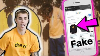 Justin Bieber On A Crusade To End Drew House Knockoffs
