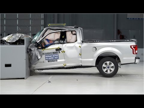 Watch The New Aluminum Ford F 150 S Crash Test