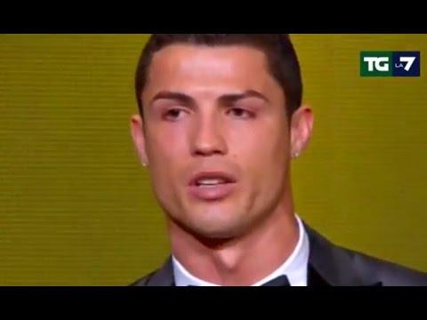Cristiano Ronaldo Pallone dOro per la terza volta 13012015  YouTube