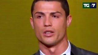 Cristiano Ronaldo Pallone d'Oro per la terza volta (13/01/2015)