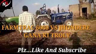 Farmtrac 6060 vs jhonedere