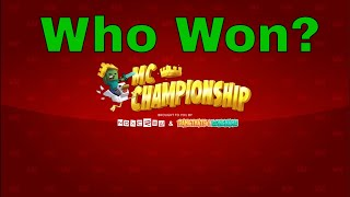 MCC 14 Results! - Is the captains curse broken? #shorts