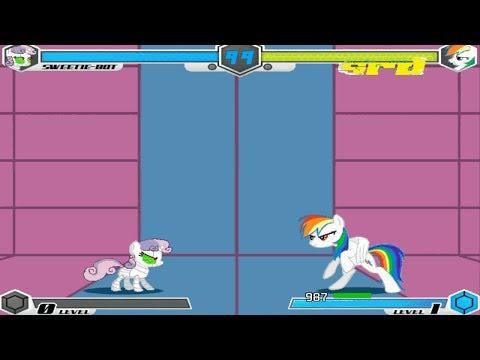 Fighting Is Magic - Sweetie Bot VS Super Rainbow Dash