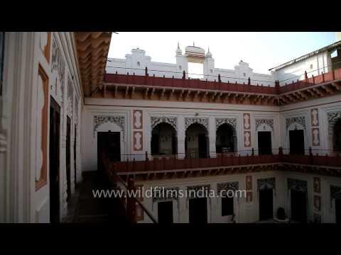 Inside view of Laxmi Vilas Palace, Bharatpur - Rajasthan