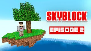 I MADE A HORRIBLE MISTAKE - Minecraft Skyblock Ep. 2