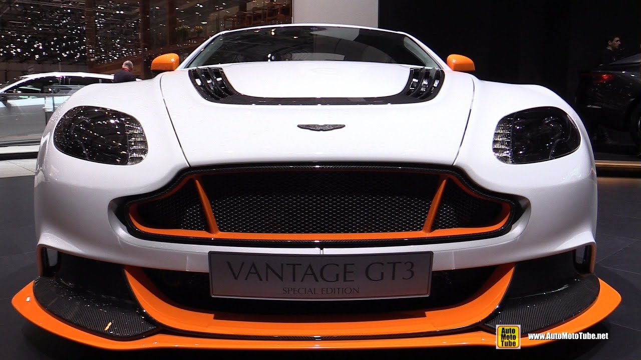 2015 aston martin vantage gt3 - exterior and interior walkaround