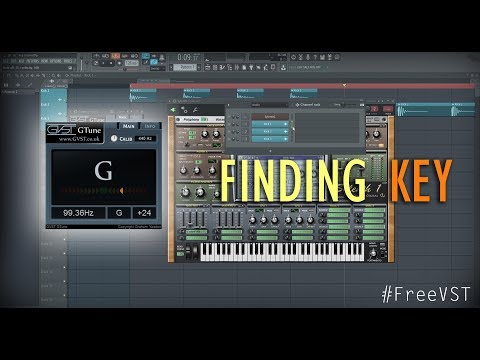 How to find key of a Kick Drum (or any sample)   GTune