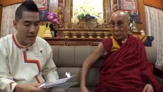 woody live with hh the dalai lama ส มภาษณ สด องค ดาไลลามะ