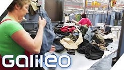 Der Weg der alten Kleidung | Galileo | ProSieben