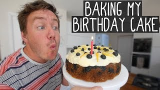 Baking my own Birthday Cake (excuse to make my fave cake in the World) thumbnail