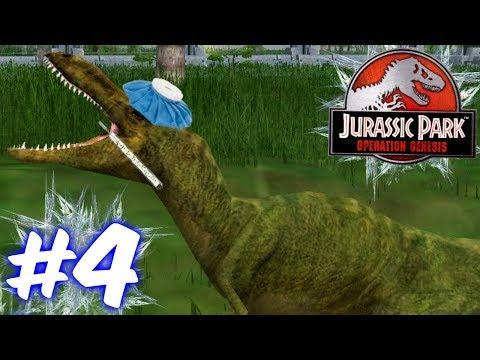 Alioramus & Epidemia!!!-Jurassic Park Operation Genesis Ep. #4