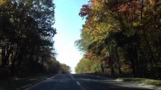 По дороге в Нью-Йорк, октябрь 2013