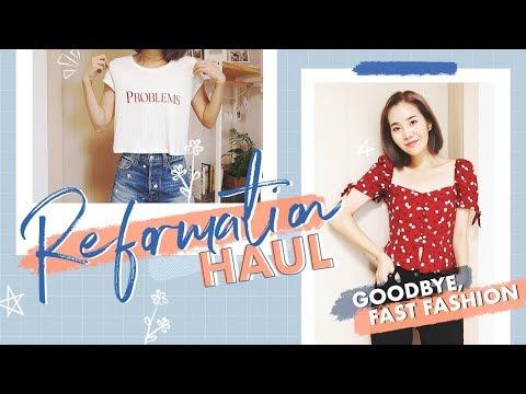 Reformation Sale Haul: Goodbye, Fast Fashion!