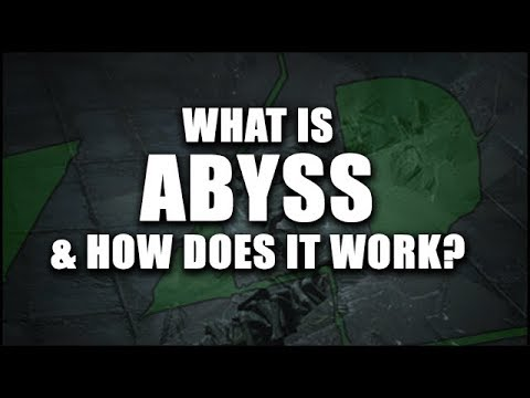 Path Of Exile 3.1: ABYSS - How To Run Abyss Successfully