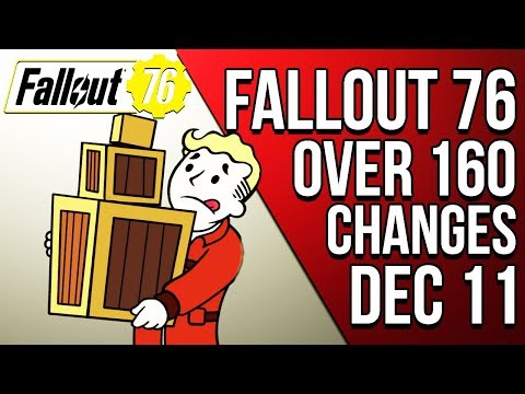 THIS FALLOUT 76 UPDATE BRINGS OVER 160 CHANGES! PATCH NOTES REVIEW - Fallout 76 News