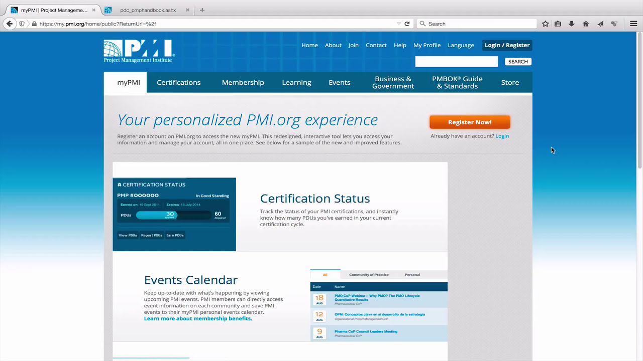 How To Renew Pmp Credential Youtube