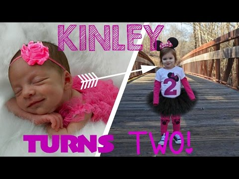 KINLEY TURNS TWO!