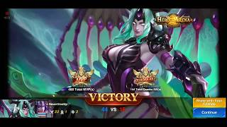 Heroes Arena Hela Game play Solo Carry Ranked