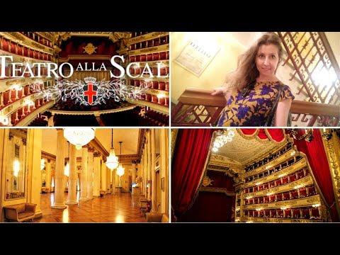 Milan: théâtre La Scala, visite 🎭🎻