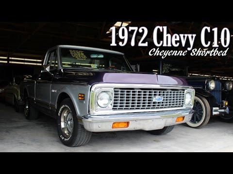 1972 Chevrolet C10 Cheyenne Shortbed Pickup